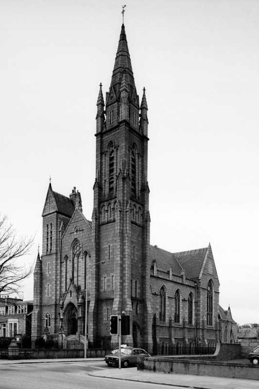 Aberdeen, Carden Place, Carden Place U.F. Church. (Melville-Carden Church). General view from South-East.