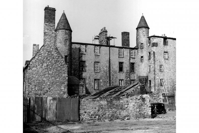 Aberdeen, Broad Street. General view of the house in the process of restoration.