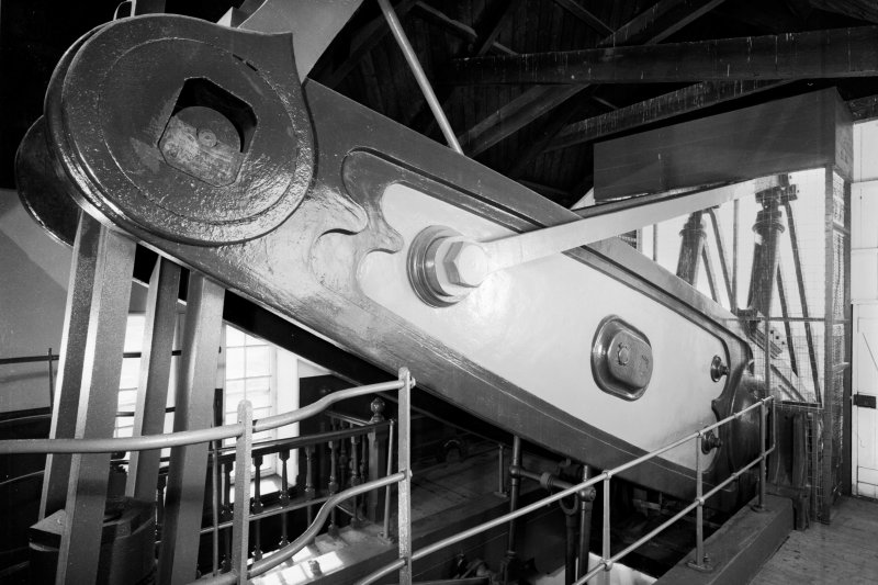 Interior. View of steam-end of beam.