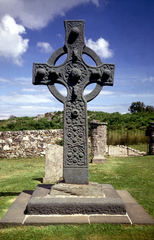 Kildalton Cross, Islay from West.