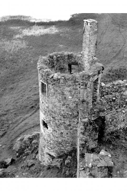 General view of South West tower from North East Pl. 73A
