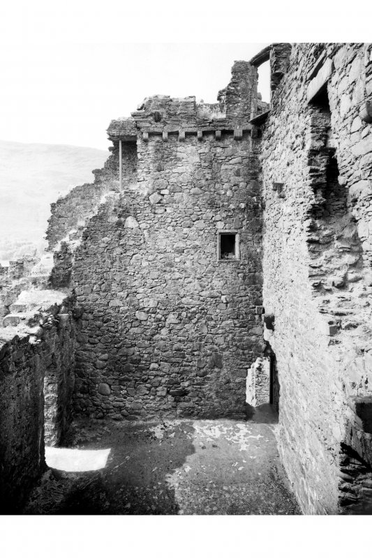 General view of interior of tower house from South East Pl. 72E