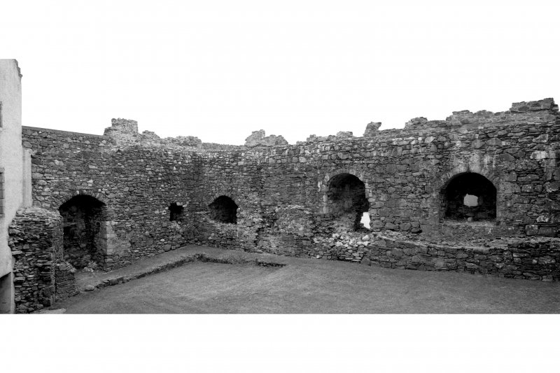 General view of interior of courtyard from North Pl. 59B