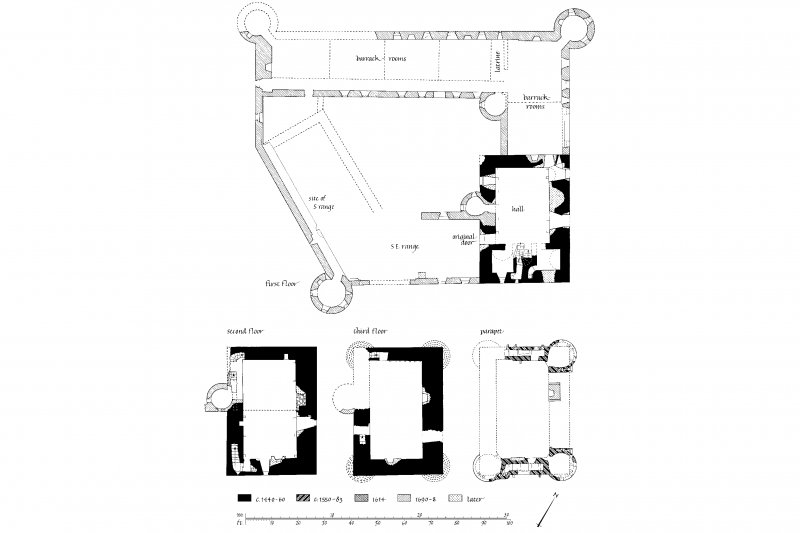Ground Floor Plan and Lower Ground Floor Plan Lorn Inv. 205