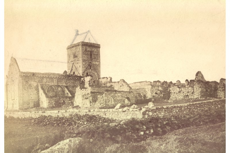Historic photograph showing general view from North-East.