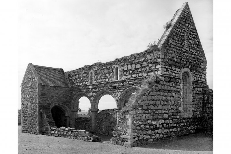 Iona, Iona Nunnery. General view from North-West.
