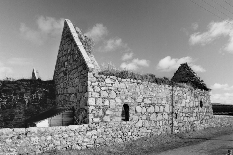 Iona, Iona Nunnery. General view of refectory from South-West.