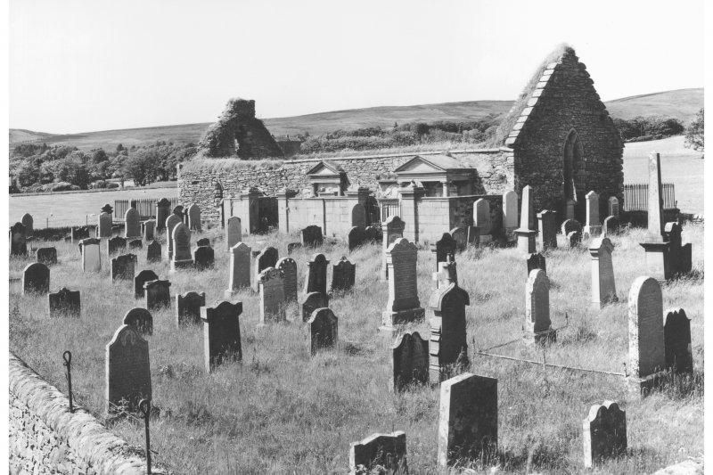 Kilbrannan, Skipness Chapel. General View from South-East.