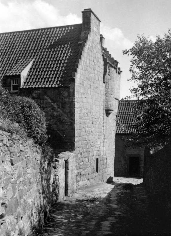 View of The Study from Back Lane from the North West.