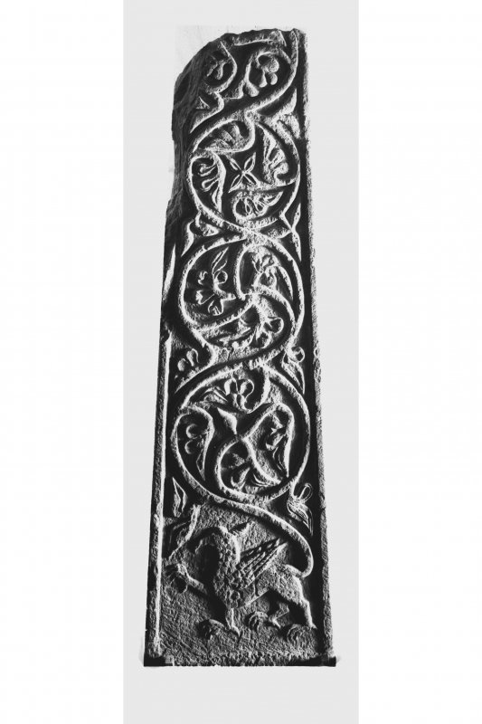 Iona, general. View showing reverse of Abbot MacKinnon's Cross.