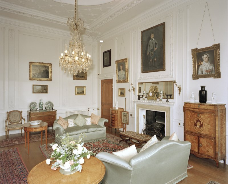 View of Drawing room from South West.