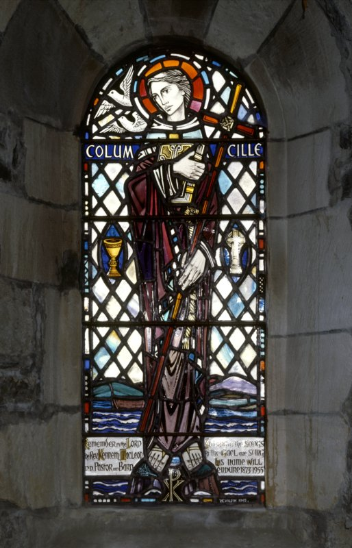 'Colum Cille' stained glass window
