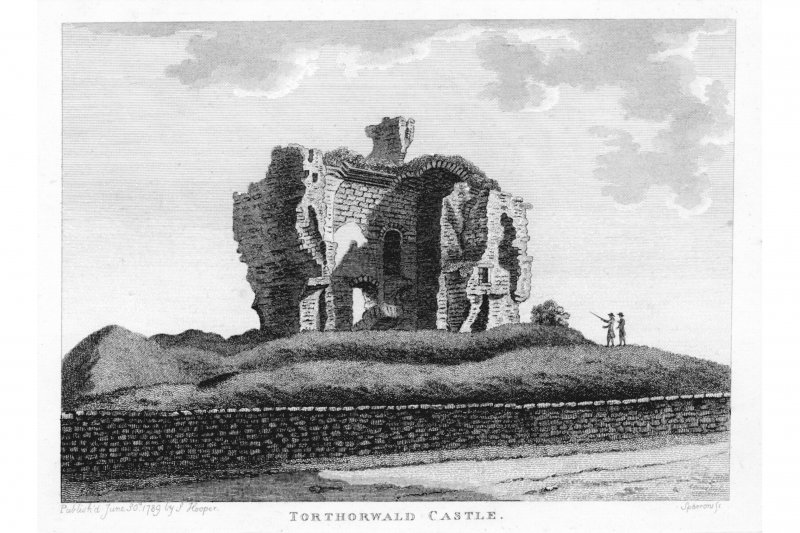 Engraving. General view.
