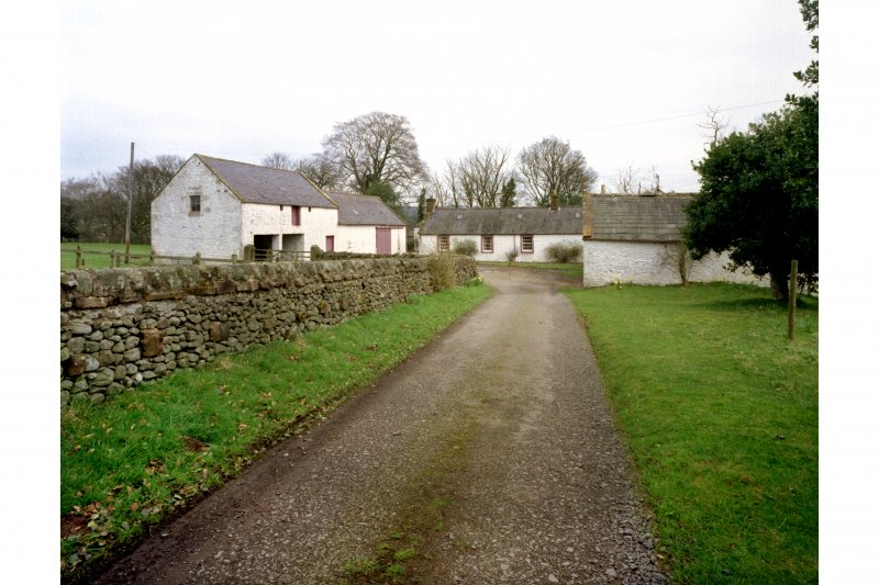 General view of steading from SW.