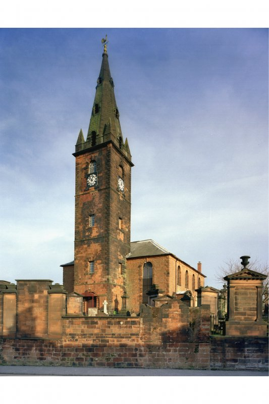 View of St Michael's Church from the South West.