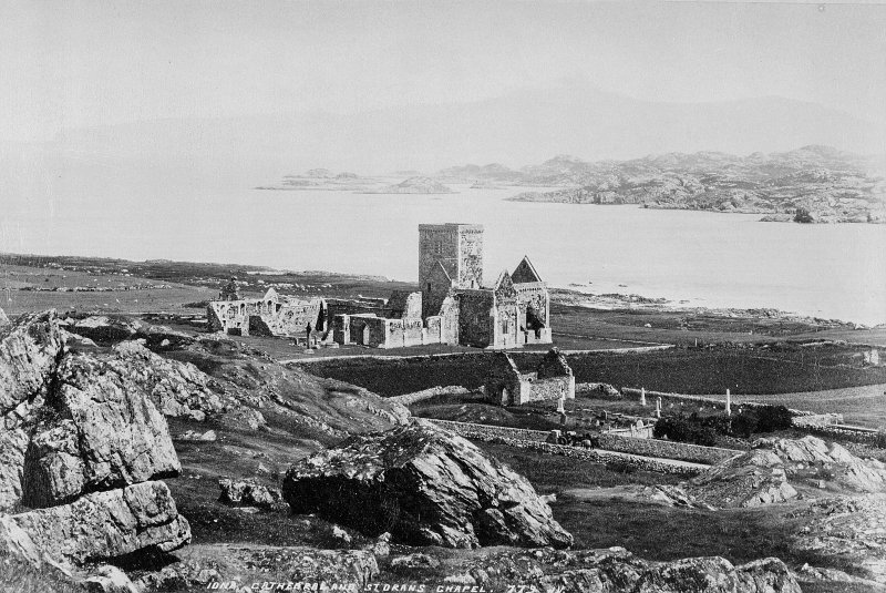 Iona Abbey and St Oran's Chapel General view