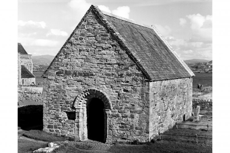 Iona, St Oran's Chapel.  General view from North-West.