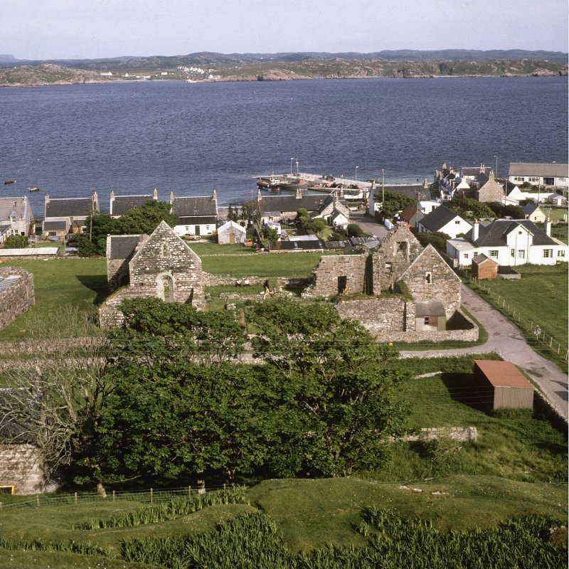 Iona Nunnery, view from W.