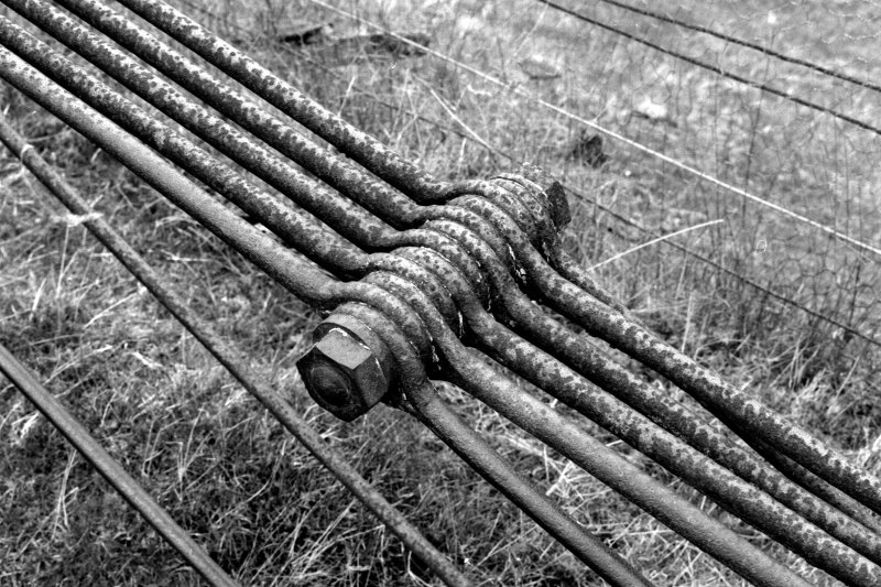 Detail of linkage unit and suspension cables