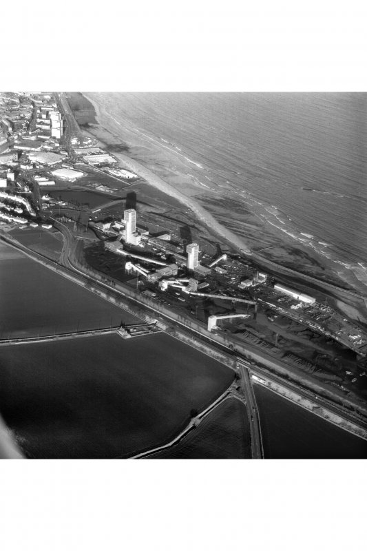Aerial view of Seafield Colliery