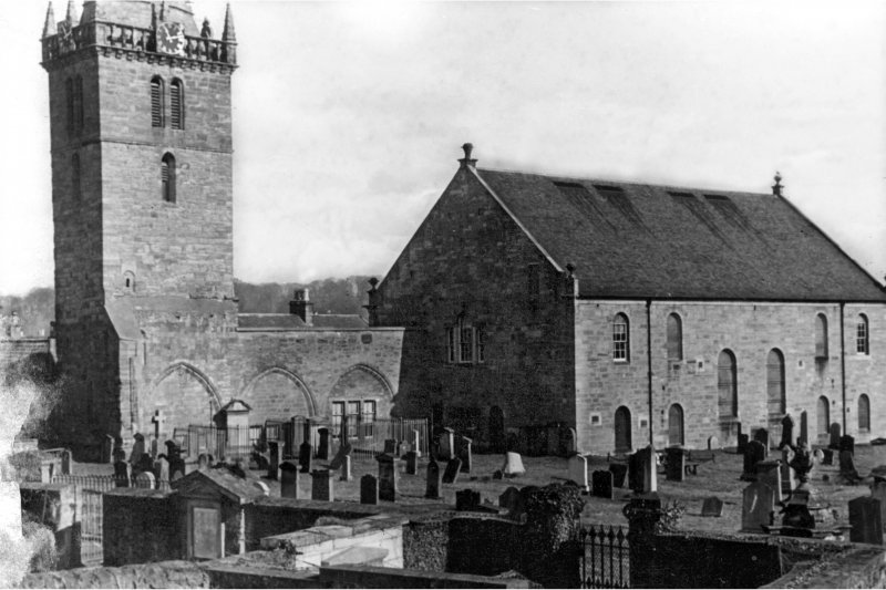 General view of St. Michael's Parish Church and Churchyard