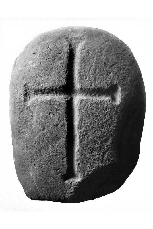 Iona Abbey museum No.4. Early Christian cross-marked stone. I Fisher 2001, p.127 (10).