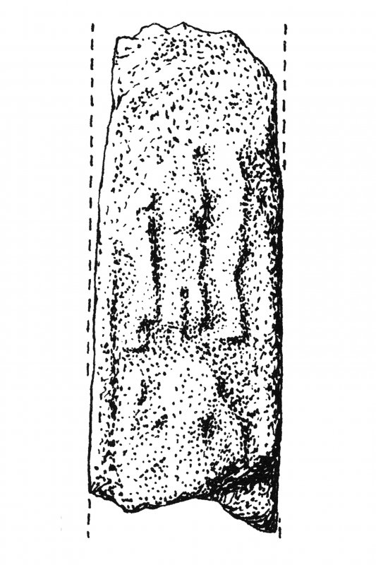 Iona, Iona Abbey Museum and Nunnery Museum.  Plan of various fragments of free-standing crosses
