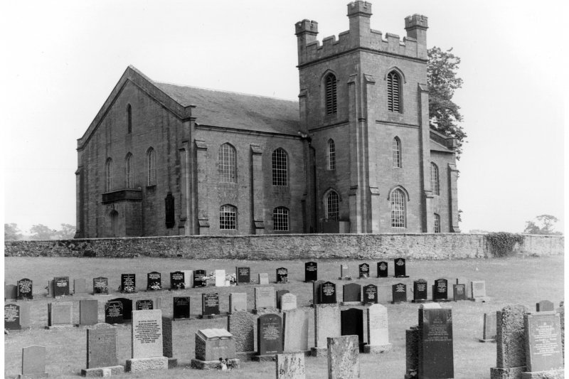 Photograph of church at Canonbie.