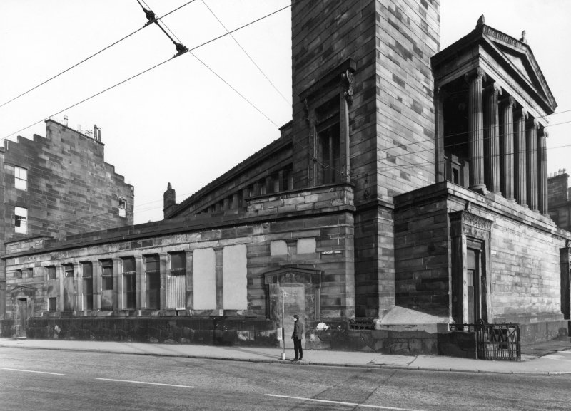 1 Caledonia Road, Caledonia Road Church General view of Cathcart Road front