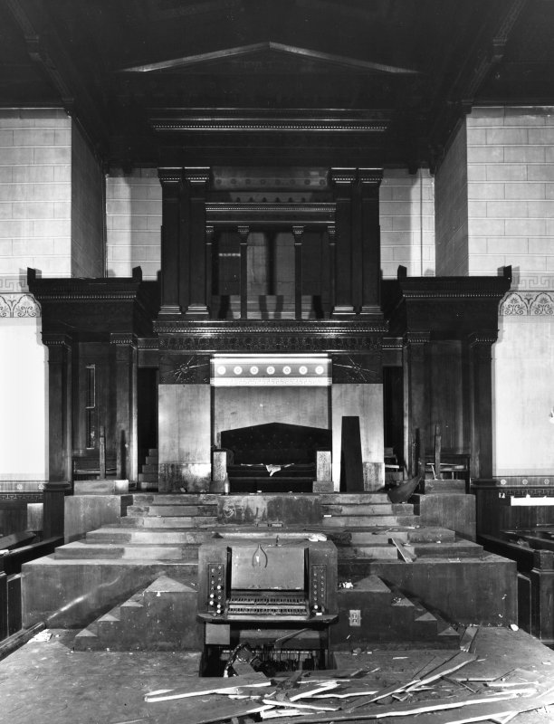1 Caledonia Road, Caledonia Road Church, interior General view