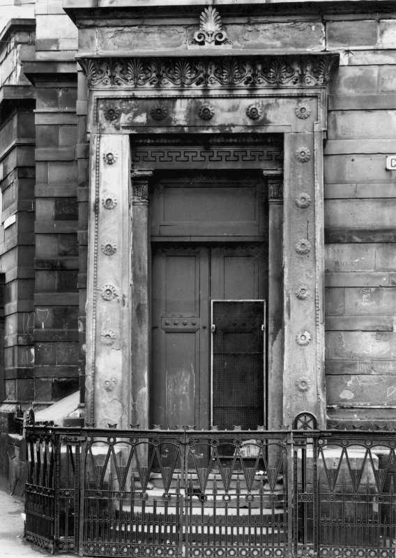 1 Caledonia Road, Caledonia Road Church View of doorway