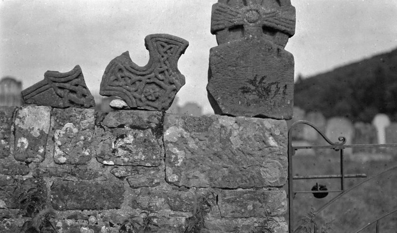 Knockhill. Fragments of crosses.