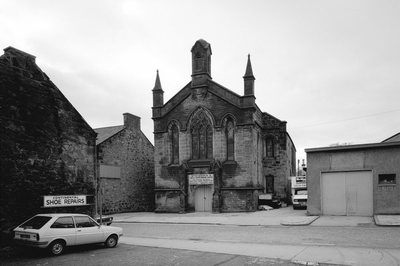 Former St. John's Church, General view from East