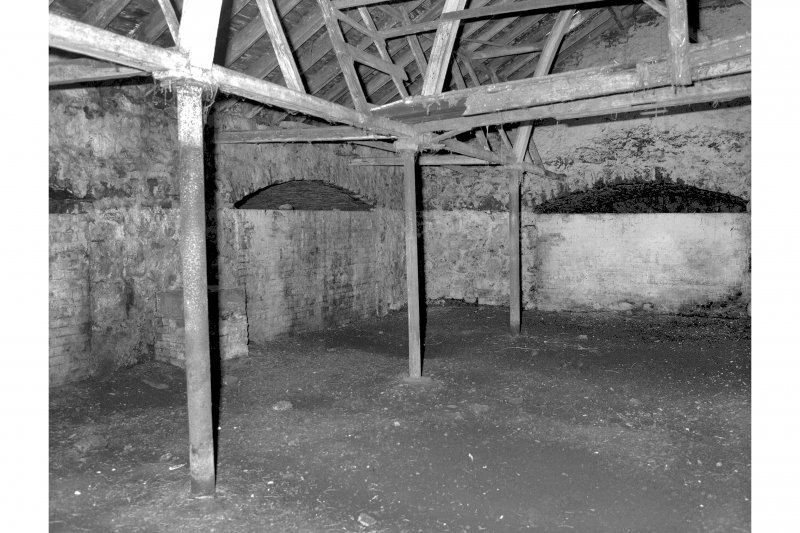 Detail of interior of cattle court