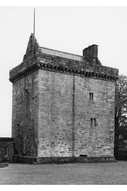 General view of tower from W.