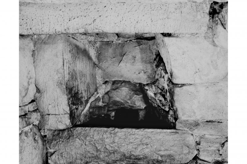 Interior. Ground floor, detail of slop basin.