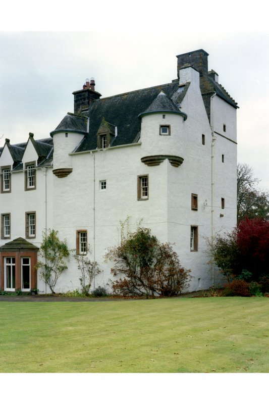 General view of tower house from SE.