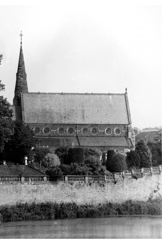 Scanned image of St Andrew's Episcopal Church, Kelso.