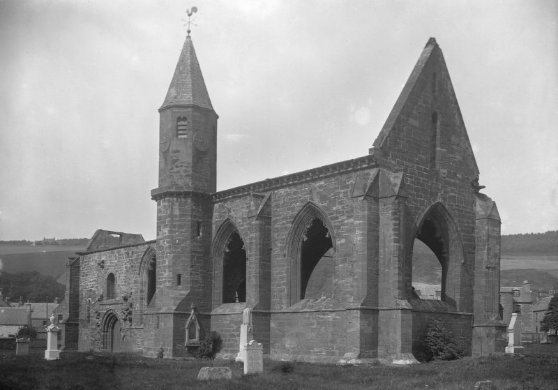 View of Fortrose Cathedral.