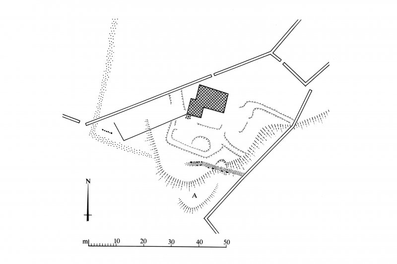 Publication drawing; Whitefield, tower-house.