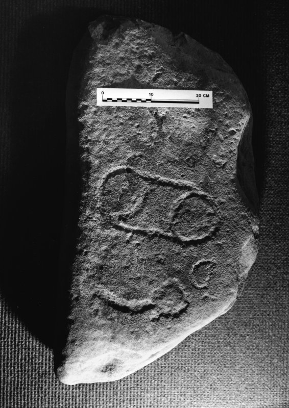 Carved stone for inclusion in Pictish Handlist.