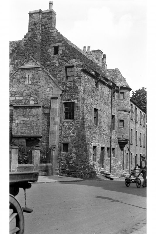 18 Church Street, Fordell's Lodging. View of street front.