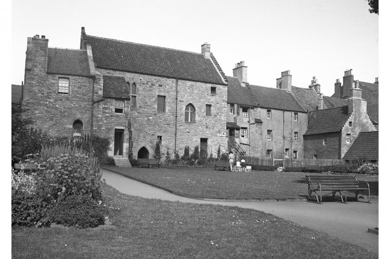 The Friary, Queen Street General view of rear with gardens