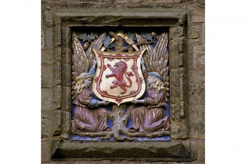 Gatehouse, central armorial