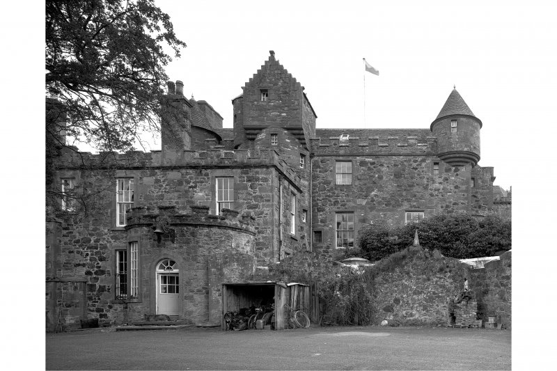 Megginch Castle. General view from North.