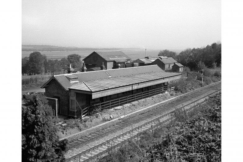 Abernethy Road Station. Station building from South
