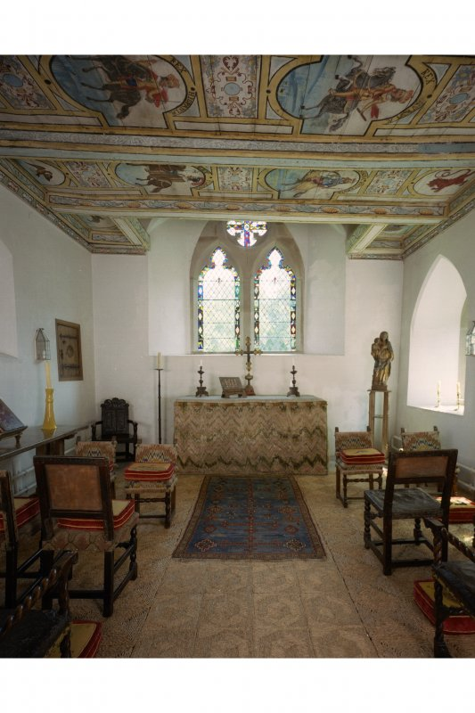 View of chapel interior