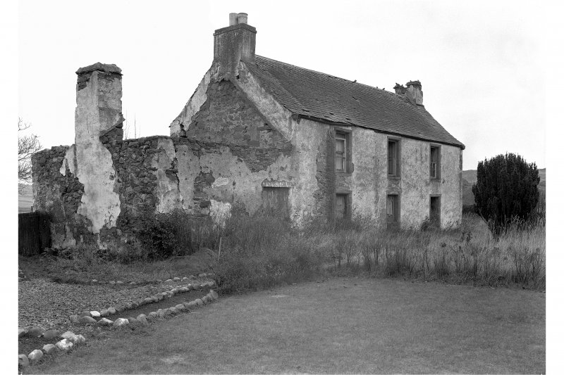 Old Mains Rattray View of house from South-West.