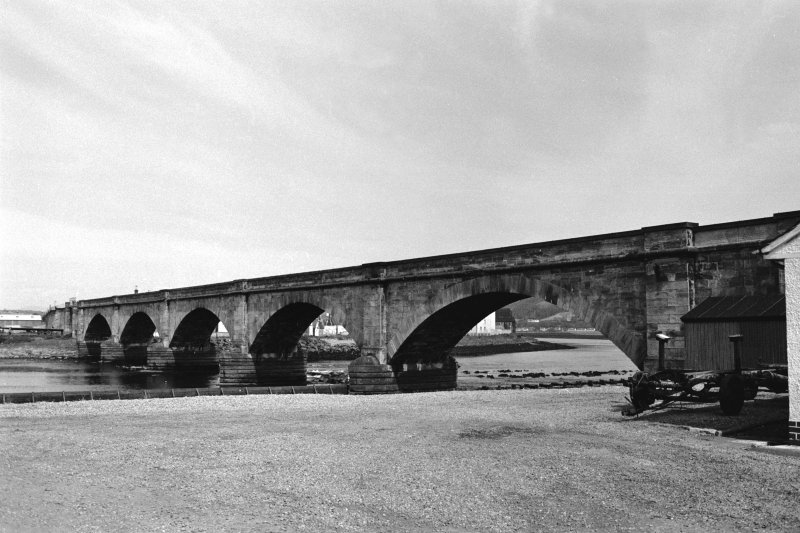 Ness Viaduct. General view.