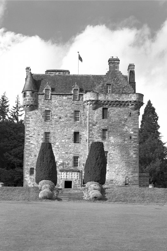 Castle Leod. View of East elevation.
